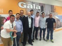 Fotos con Galardonados Medalla Merito Deportivo Ayto Algete 2015